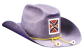 QUALITY WOOL CIVIL WAR SOLIDER COSTUME HAT LG - $69.95