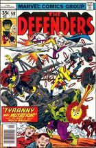 Marvel THE DEFENDERS (1972 Series) #59 FN+ - $1.99