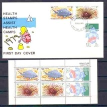 NEW ZEALAND 1979  M/S  & FDC  FISH     4650RD - $6.93