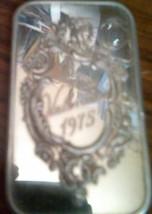 1975 VALENTINE PURE SILVER INGOT 1 OUNCE  15590 - $59.40