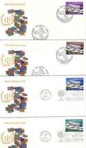 UN-NY-GENEVA 1974 ILO 4 FDC 4498x - $7.92