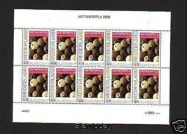 NETHERLANDS 3 FULL SHEETS STAMP EXHIBITION 2009 12191-1 - $48.51