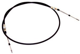 Push Pull Cable, With Threaded Bulk Head Ends, 7 Ft Overall, Compatible with Dun - $60.95