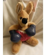 """Boxing Kangaroo 12"""" Plush Toy Vintage 1988 - $13.99"""