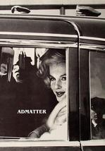Marilyn Monroe Candid Photo Looking out Car Window - $4.89