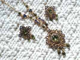 Lovely Cookie Lee Filigree Necklace & Earrings Set - Items 29267 & 29268, New!  - $19.99