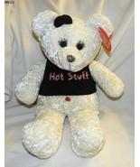 "Fiesta 16.5""  White Cuddly  PlushTeddy Bear NWT - $16.99"
