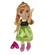 Ice Skating Princess Anna Frozen Toddler Doll D... - $32.99