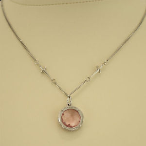 Cesare PACIOTTI Necklace Silver 925 JPCL 0305b Pink