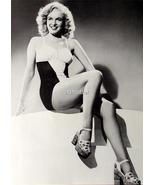 Marilyn Monroe Norma Jean 2-sided Pinup Fire Hot Pic!  - $6.65
