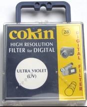 28mm Cokin UV Digital Lens Filter High Resoluti... - $8.72