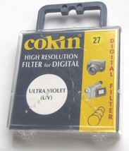 27mm Cokin UV Digital Lens Filter High Resolution Safety C2310-27 Circular - $9.59