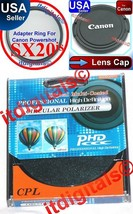Adapter CPL Filter Lens Cap For Canon Powershot... - $27.93