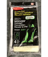 (4) Pack - Rubbermaid Type A Hoover Vacuum Bags - New Unopened - $4.94