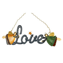 Hanging Angel Love Sign  CIS963 - $10.95