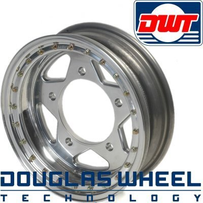 Primary image for Douglas Bead Lock 15 Inch Diameter 5 Inch Wide 5 Lug Vw For 14Mm Lugs 3 Inch Bac