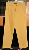 Ermenegildo Zegna Pants Man Used Color Senape 100% Cotton  TG 46 Size 32 - $15.00