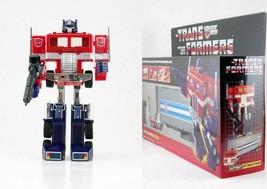 Top TRANSFORMERS AUTOBOT Optimus Prime tractor to Robot G1 Reissue Spiel... - $94.50