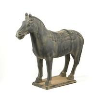 Chinese Terra Cotta Horse Statue 6 Inch - $29.95