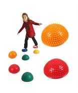 4PCS Hemispheres Stepping Stone Kids Balance Pods Kindergarten Sport Act... - $42.06