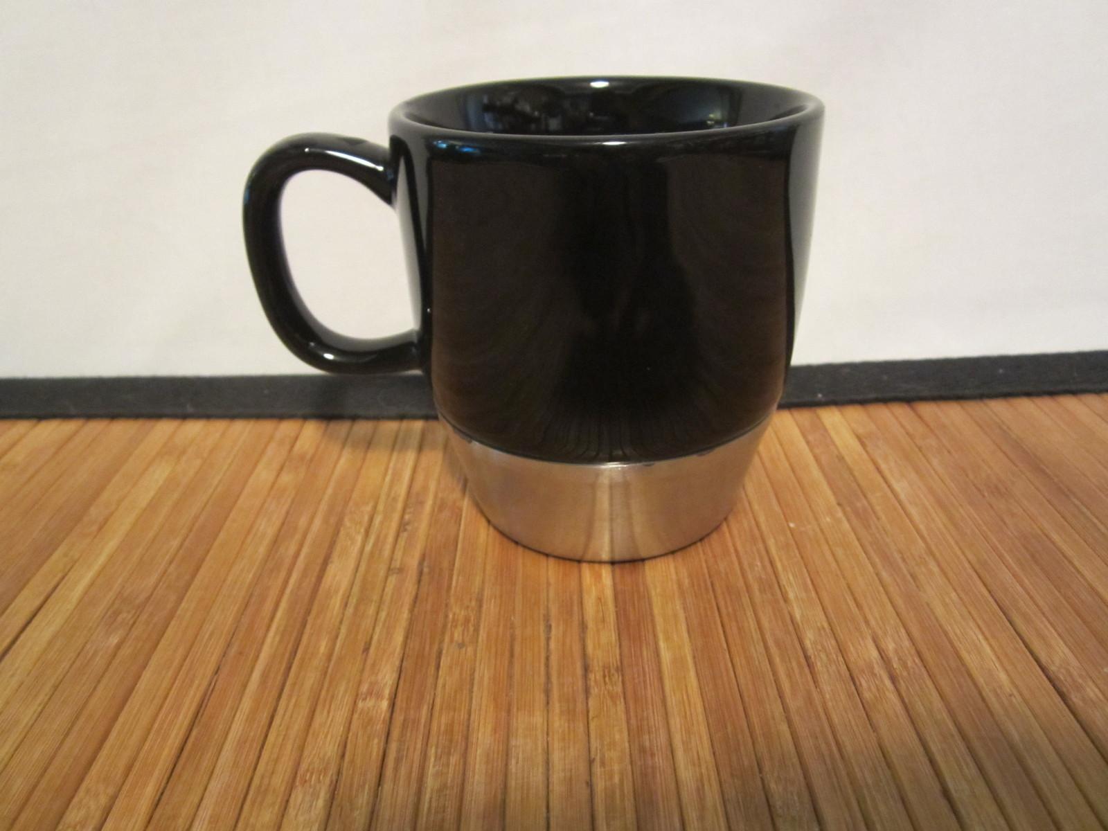 2006 Urban Starbucks Stainless Steel Black Coffee Tea Mug Cup 10 oz - Starbucks
