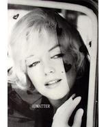 Marilyn Monroe Print Hearts Veil & White Gloves photo - $7.52