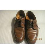 Allen Edmonds STOCKBRIDGE Men's Brown Leather Split Toe Oxford Lace Shoe... - $55.00