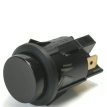 Black 16 Amp Push Momentary On Push Button Switch With Tab Terminals - $20.95