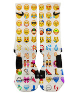 Nike Elite Custom Emoji Socks Fast and Free Shipping! - $28.99