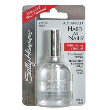 Sally Hansen Advanced Hard As Nails, Nude, 0.45 Fluid Oz