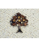 Cookie Lee Autumn Tree Brooch - Item #56056 - Stunning Piece, New! - $18.99