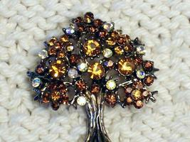 Cookie Lee Autumn Tree Brooch - Item #56056 - Stunning Piece, New! image 2