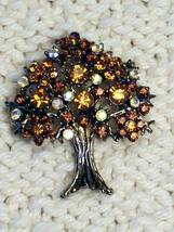 Cookie Lee Autumn Tree Brooch - Item #56056 - Stunning Piece, New! image 3