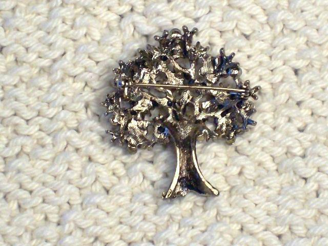 Cookie Lee Autumn Tree Brooch - Item #56056 - Stunning Piece, New! image 4