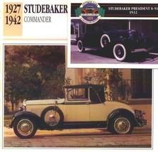 1930 30 STUDEBAKER COMMANDER CONVERTIBLE COLLECTOR COLLECTIBLE - $6.76