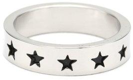Marvel Comics Captain America Multi-Black Star Ring, Size 7 [Jewelry] - $11.88
