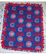 Chicago Cubs Blanket Baseball Hand Tied Fleece Baby Pet Lap Dog MLB Red ... - $39.95
