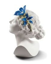 Lladro Daisy with Flowers Woman Bust 01009252 - $673.58