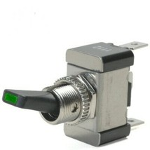 Green LED Tip On / Off 30 Amp Toggle Switch Wit... - $21.95