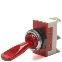 Red 20 Amp On / Off Lighted Lever Toggle Switch... - $20.95