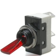 Red 20 Amp On/Off Lighted Lever Toggle Switch T... - $20.95