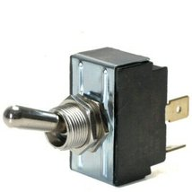 On / On Double Pole 20 Amp Toggle Switch With Tab Terminals - $20.95