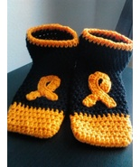 Multiple Scleroris Awareness Footies/Socks (Ora... - $20.00