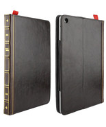 Apple iPad Air / Air 2 Retro Bookbook Style Flip Leather Case with Holder  - $23.34