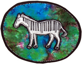 Z-Barcode: Quilted Art Wall Hanging - $265.00