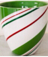 Christmas Starbucks Cups Mugs Red Green Striped - $22.50