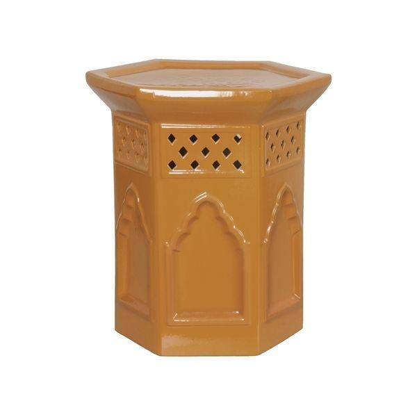 Emissary Garden 0928bg Brown Gold Morac Hex Ceramic Garden