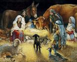 Away in a manger cross stitch pattern thumb155 crop