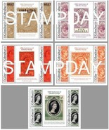 GIBRALTAR 2011 125 YEARS  STAMP ON STAMP GUTTERS 13711-14 - ₨3,126.21 INR