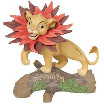 Simba Dream Big Disney Precious Moments Figurine Lion King Bisque Porcel... - $40.58